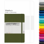 Mobile Preview: Leuchtturm Notizbuch Medium (A5), Hardcover, 249 numerierte Seiten